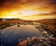 Winter in Falkland Islands