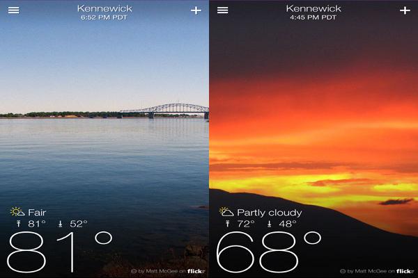 Yahoo! Weather!