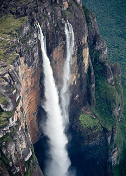 BASE Jumping, Angel Falls