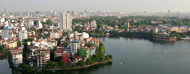 Hanoi City in Vietnam