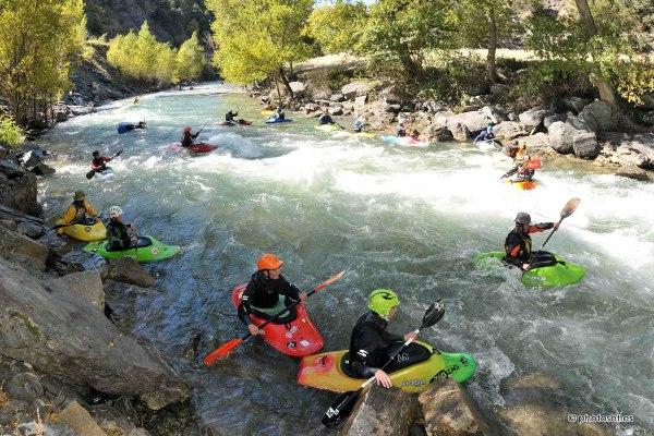 Kayaking in Spain