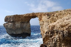 The Azure Window on Gozo