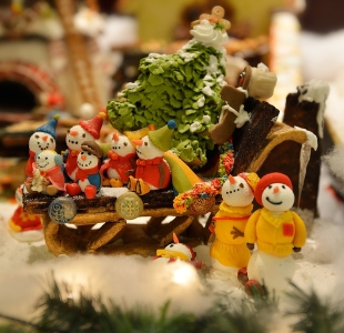 Snowman Christmas Display