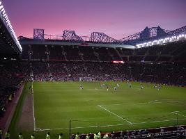 A Football Match at Old Trafford