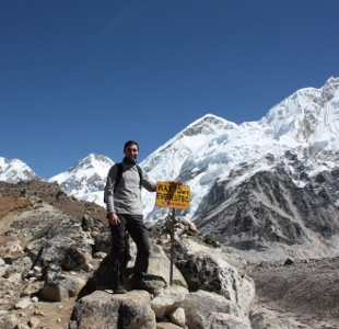 Matt Renew at Everest Base Camp