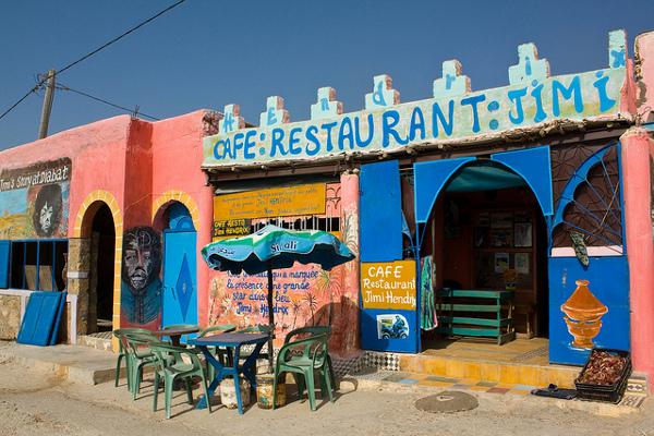 Find restaurants off the beaten track