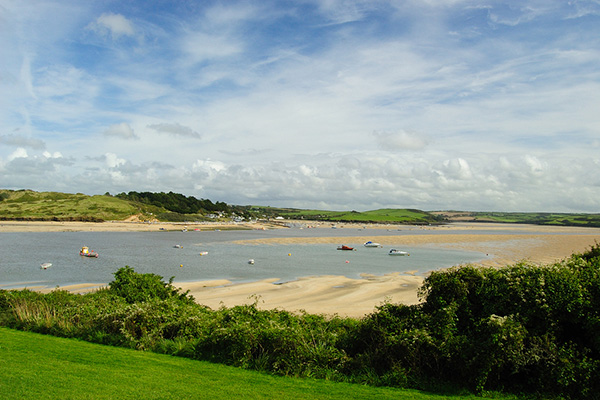 Camel Estuary, Rock