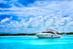 Yachting in Caribbean