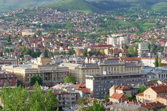 Sarajevo City Scape