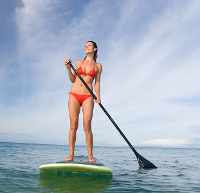 Lady On SUP