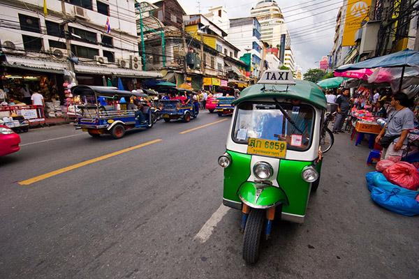 Bangkok Taxi, Thailand