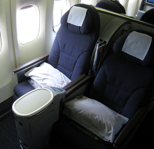 Aeroplane Seat And View