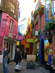The World Food Café, Neal's Yard, Covent Garden