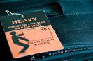Heavy Luggage Tag