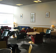 Birmingam Airport Lounge Seating