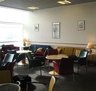 Birmingam Airport Lounge Seating