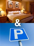Save on parking and hotel