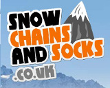 Snow Chain and Socks Logo