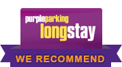 Purple Parking with Essential Travel
