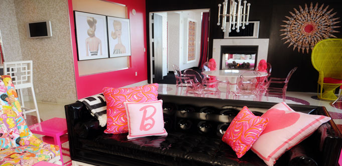 Las Vegas, Palms: Barbie Suite