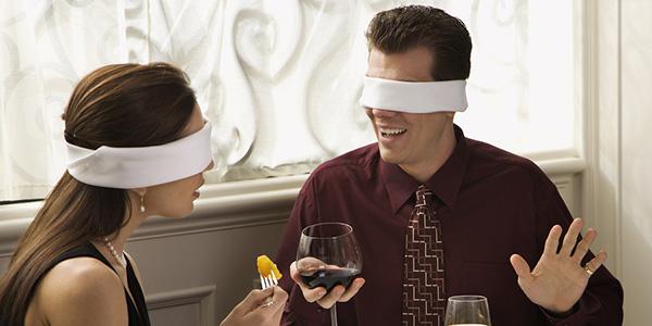 Dining Blindfolded