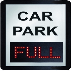 East Midlands Airport Car Park Full