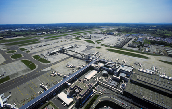 An Aerial View of Gatwick Airport