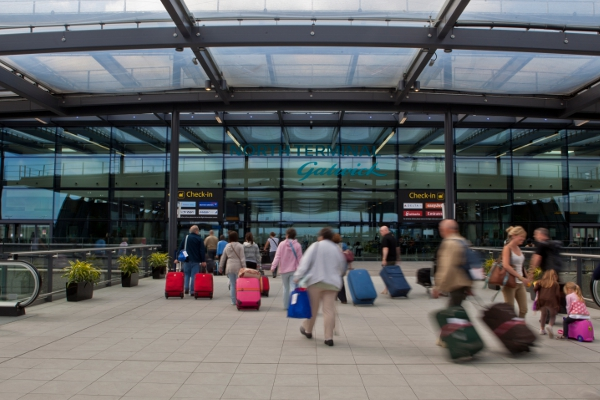 The Entrance to Gatwick's North Terminal