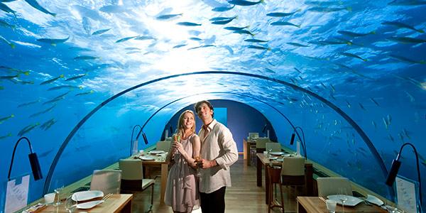 Conrad Maldives Ithaa Restaurant