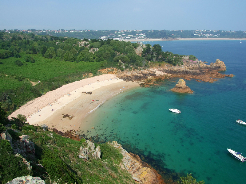 Jersey: Beauport Beach