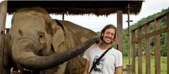 Joff And Elephant