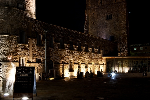 Oxford Castle At Night