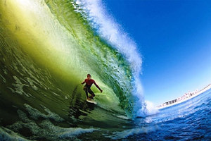 Long Beach Surfing - Pic Courtesy Of Quiksilver