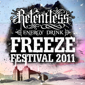 Relentless Freeze Festival 2011 Banner