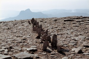 Richard Long: A Line in Scotland 1981 © Copyright the artist