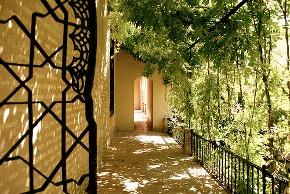 Royal Gardens in Alcazar Palace (Seville)