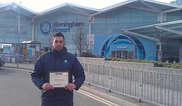 stress free parking at birmingham airport win car park attendant of the month