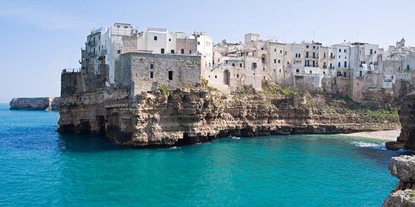 Polignano Southern Italy