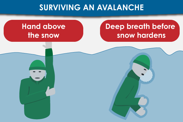 Avalanche Survival Tips