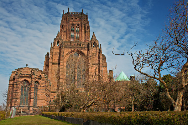 Liverpool Cathedral during the day