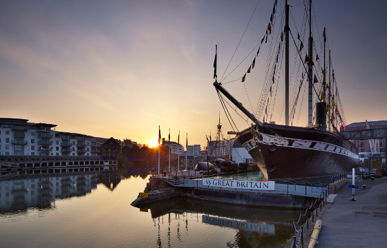 Brunel's ss Great Britain Ship