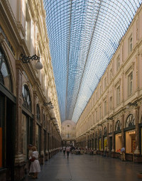 Galeries Saint Hubert in Brussels, Belgium