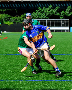 The Irish game of hurling