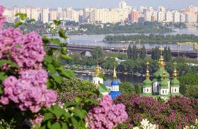 M.M Gyshko Botanic Gardens with Vydubychi Monastery