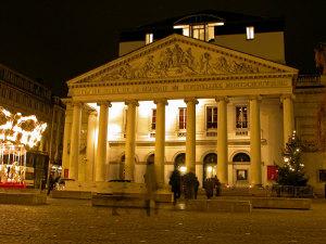 La Monnaie in Brussels, Belgium