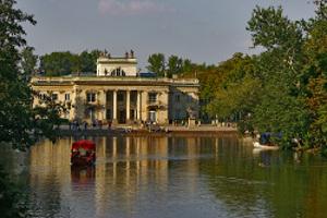 Famous Warsaw Lazienki Palace