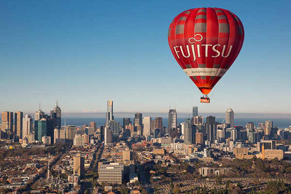 Hot air balloon flights over Melbourne