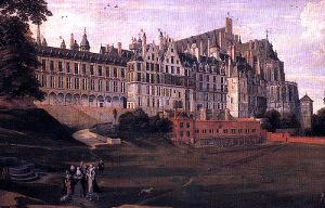 Palais Coudenberg underneath Brussels, Belgium
