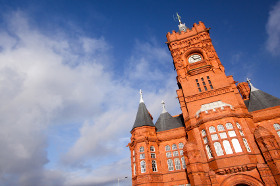 Pierhead Building in Cardiff Bay