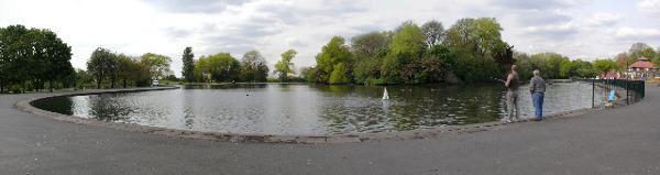 Platt Fields Park Lake